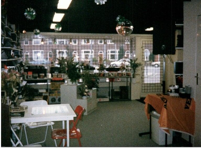 verbouwing 1987 kassa