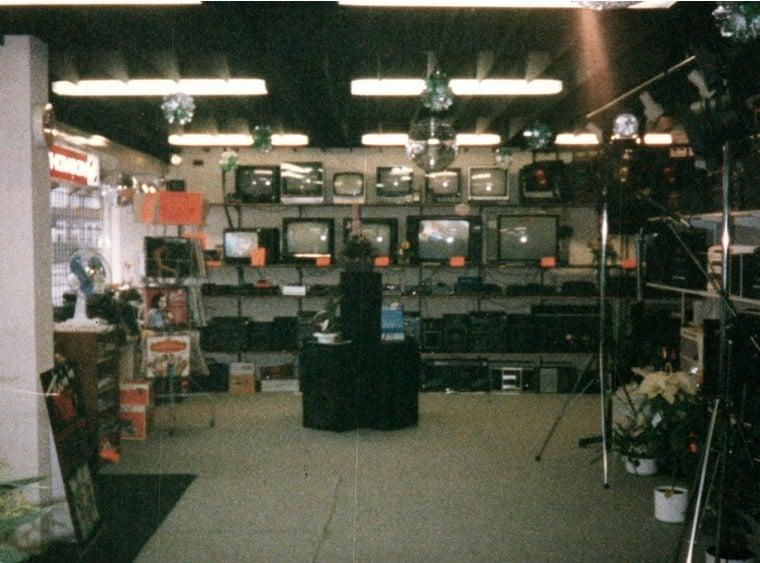 verbouwing 1987 winkel