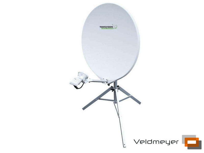 Travel Vision R7 Volautomatisch Portable SatSystem